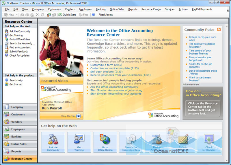 Microsoft Office Accounting Express 2009 Latest Version Download