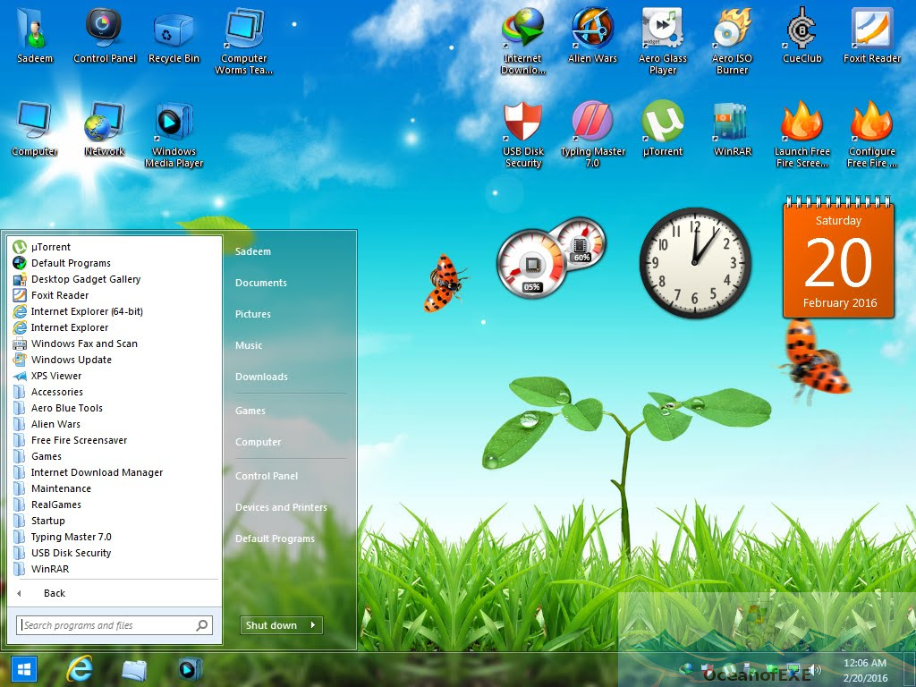 Windows 7 Aero Blue Edition Offline Installer Download