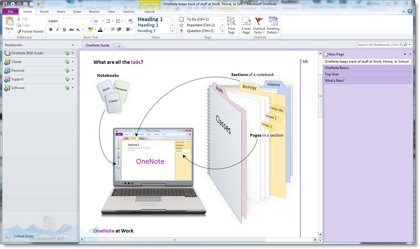 Office OneNote 2010 Latest Version Download