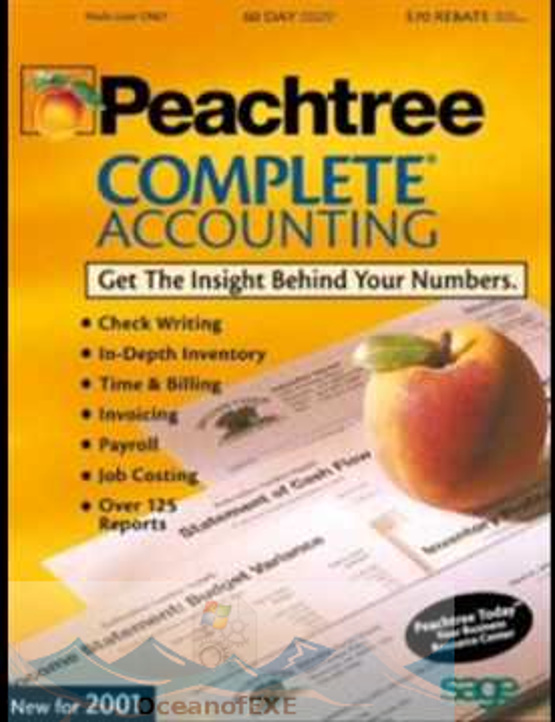 Peachtree 2001 Complete Accounting 8 Free Download