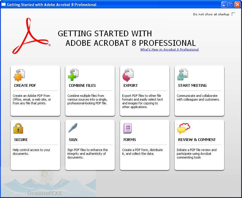 adobe acrobat 8 free download for windows xp