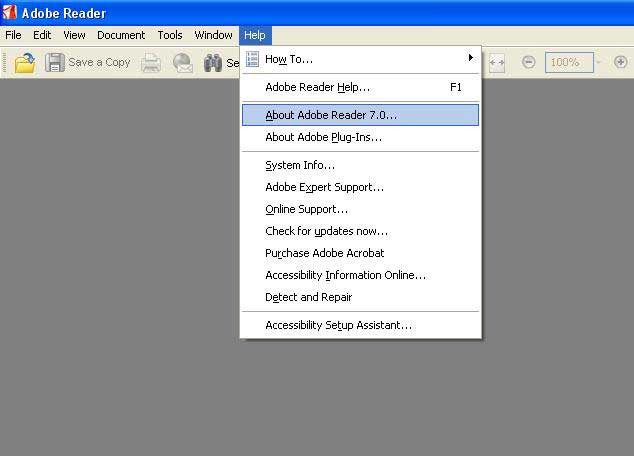 Adobe Acrobat Reader 7.0 Latest Version Download