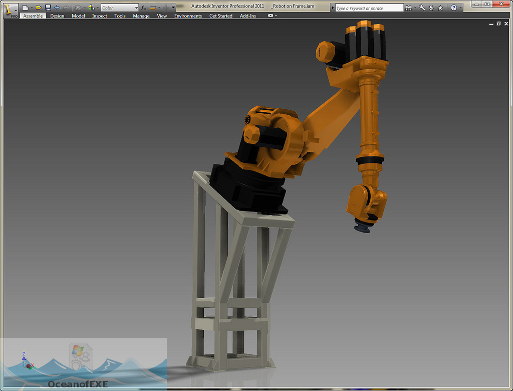 Autodesk Inventor 2011 Direct Link Download-OceanofEXE.com