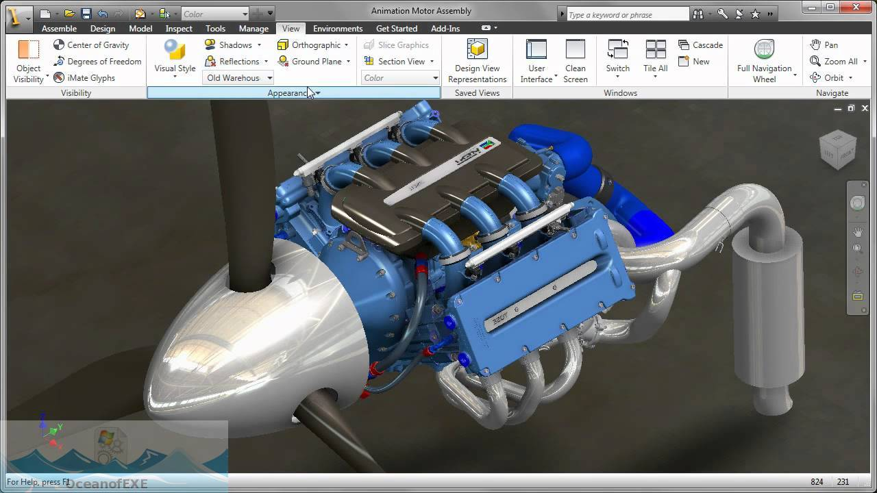 Autodesk Inventor 2011 Latest Version Download-OceanofEXE.com