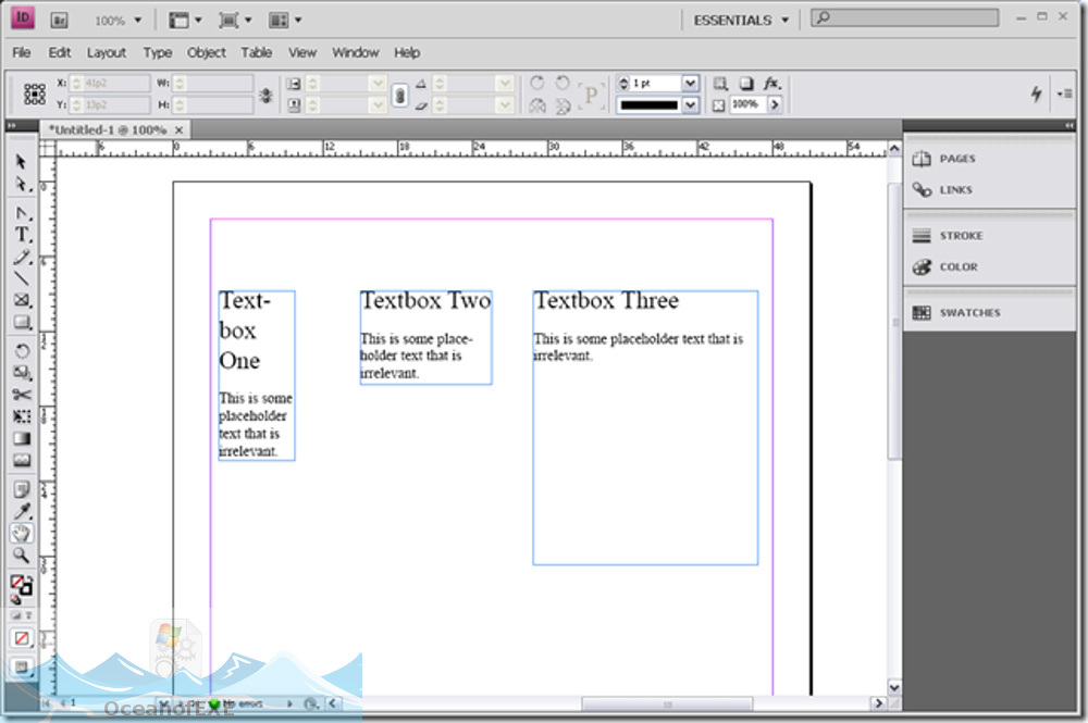 Adobe InDesign CS4 Latest Version Download-OceanofEXE.com